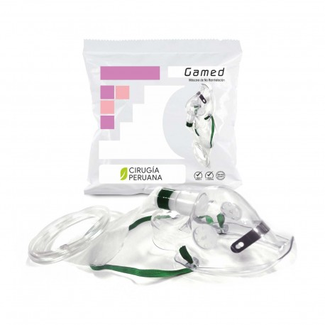 Máscara de no reinhalación parcial para Respirar