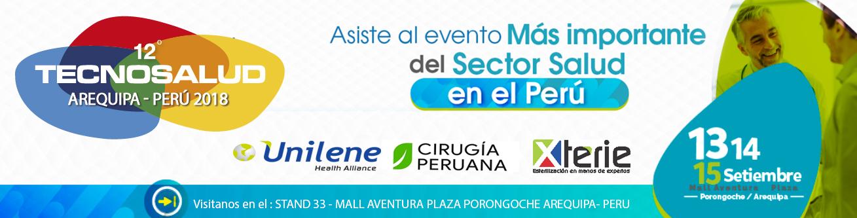 cirugia peruana presente en TECNOSALUD 2018