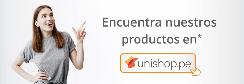 Encuentra nuestros productos en Unishop
